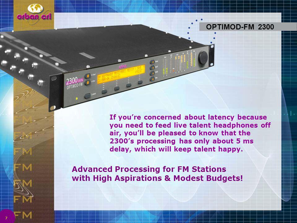 OPTIMOD-FM 2300