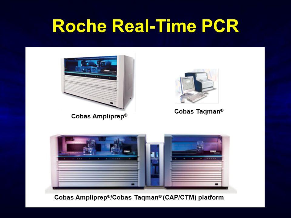Roche Real-Time PCR Cobas Taqman® Cobas Ampliprep®