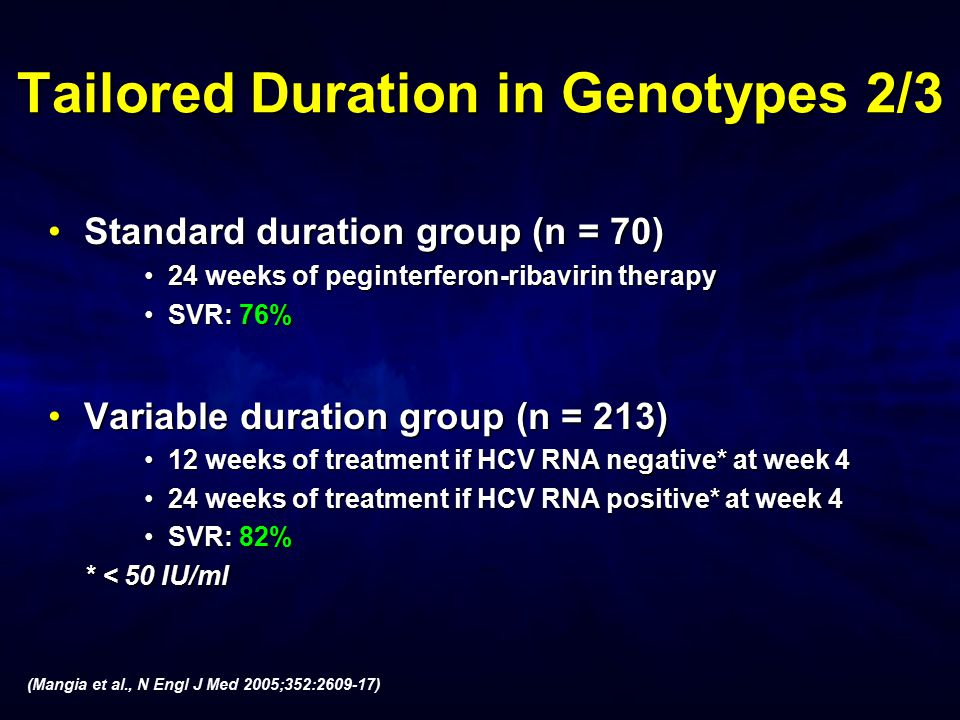 Tailored Duration in Genotypes 2/3