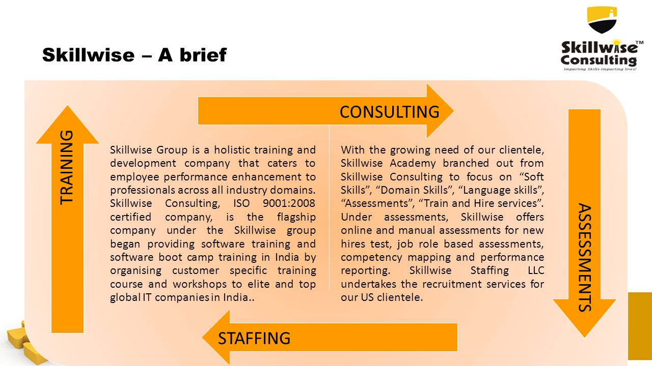 Skillwise – A brief CONSULTING STAFFING