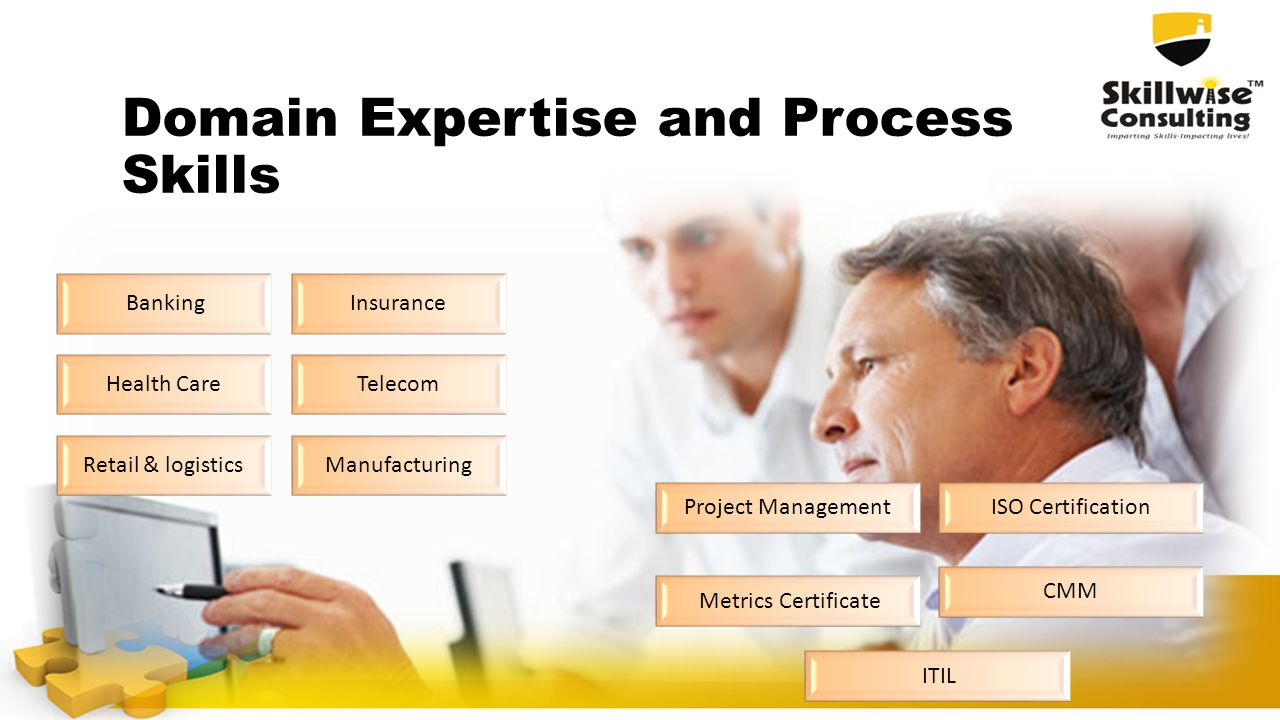Domain Expertise and Process Skills