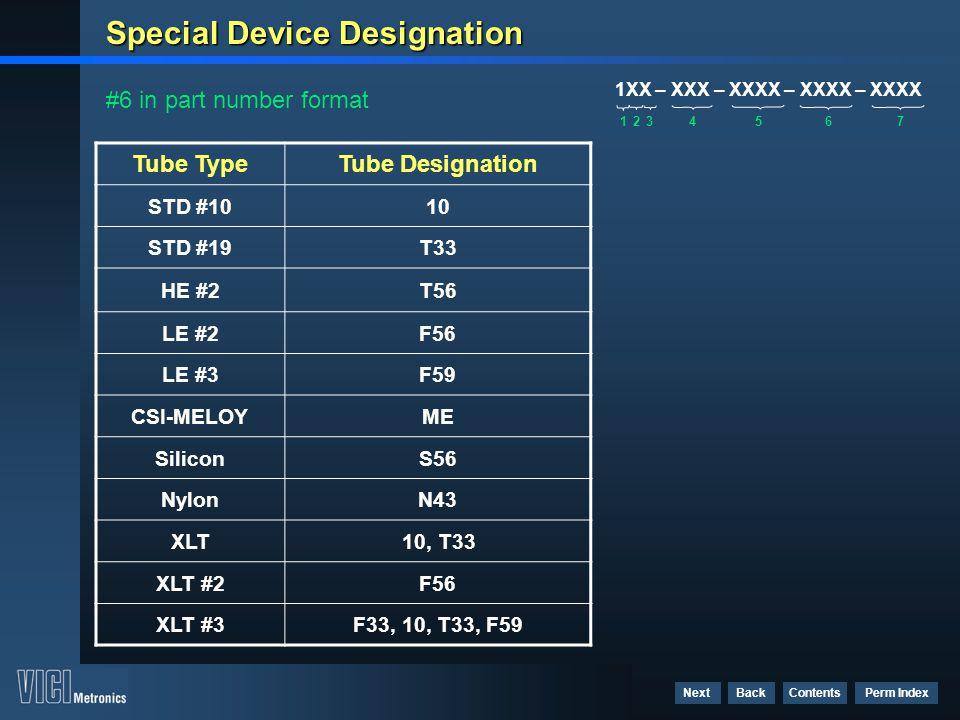 Special Device Designation