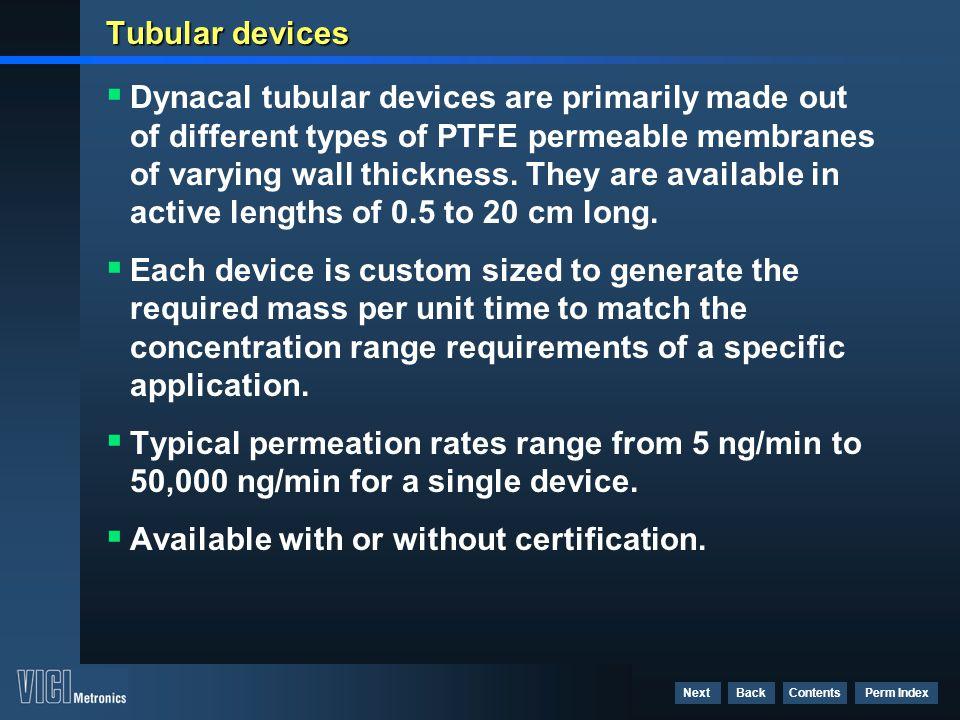 Tubular devices