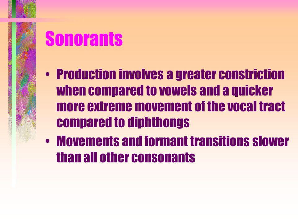 Sonorants