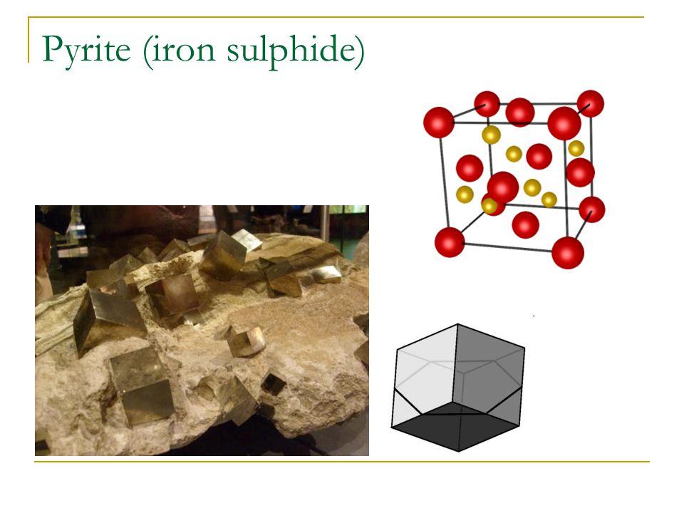 Pyrite (iron sulphide)