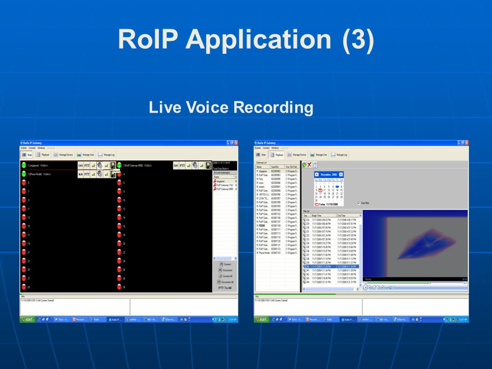 Live Voice Recording RoIP Application (3)