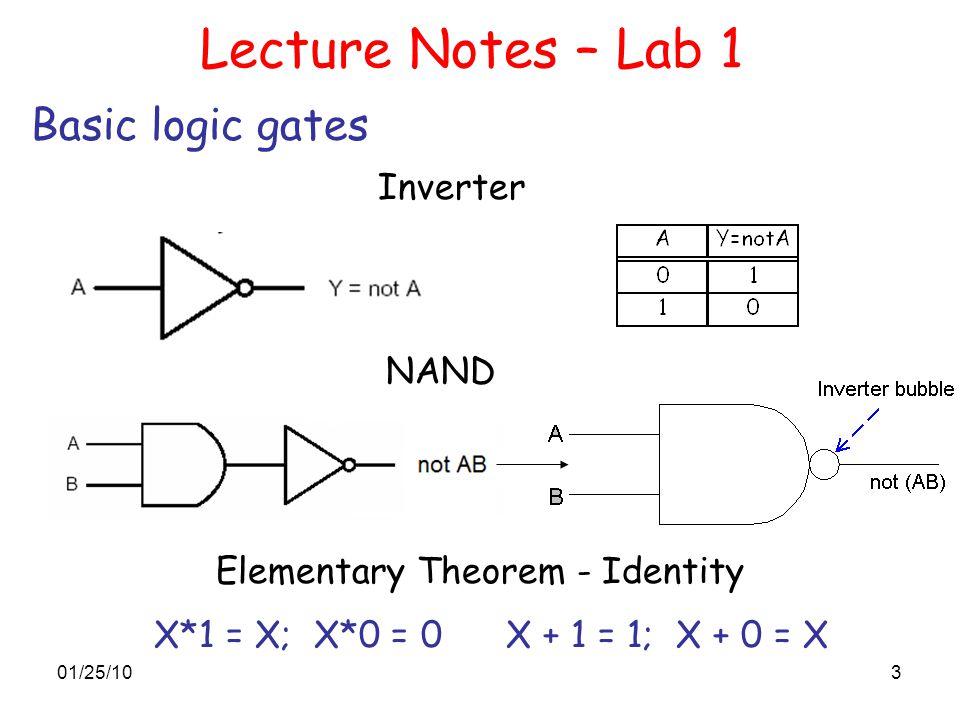 Elementary Theorem - Identity