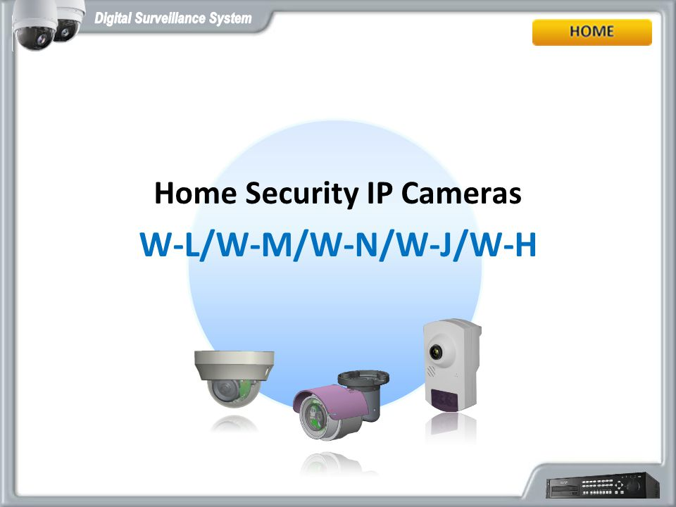 Home Security IP Cameras