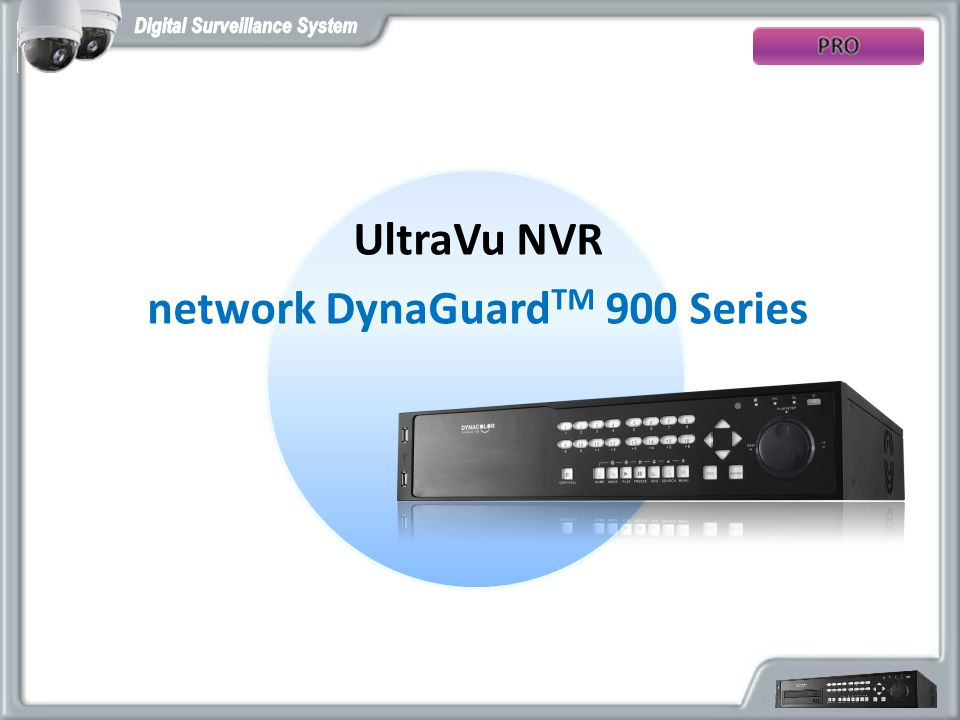 network DynaGuardTM 900 Series