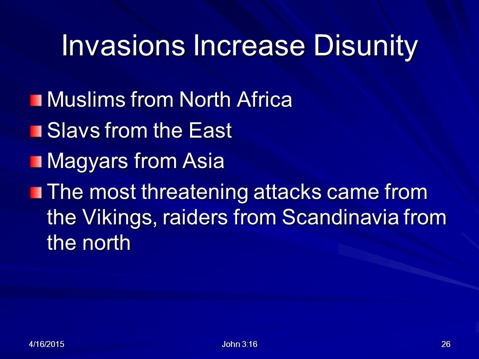 Invasions Increase Disunity
