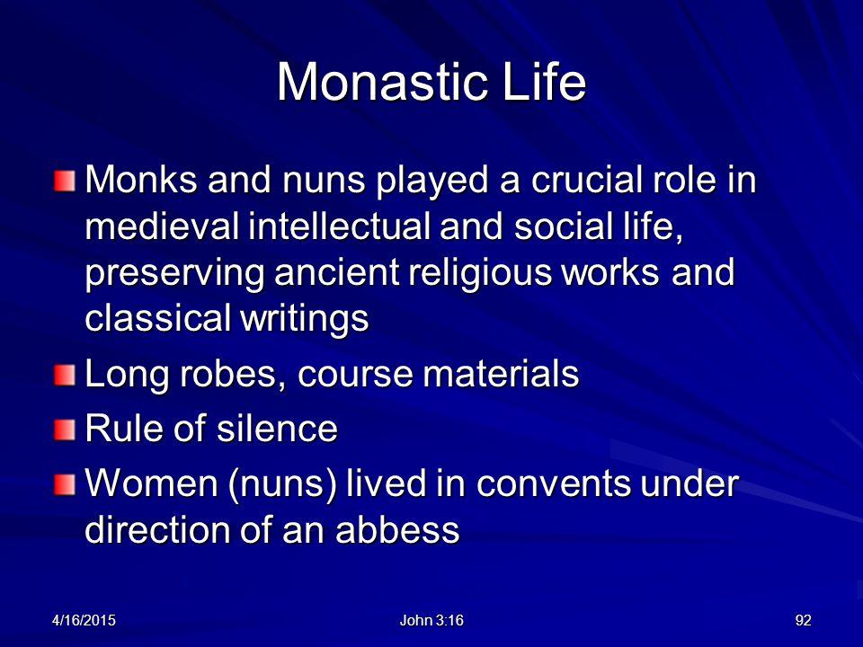 Monastic Life