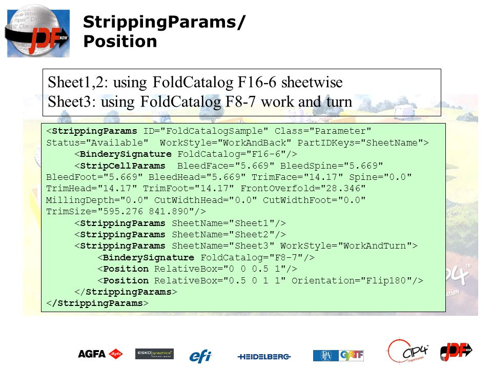 StrippingParams/ Position