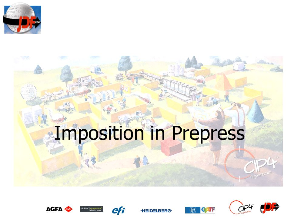 Imposition in Prepress