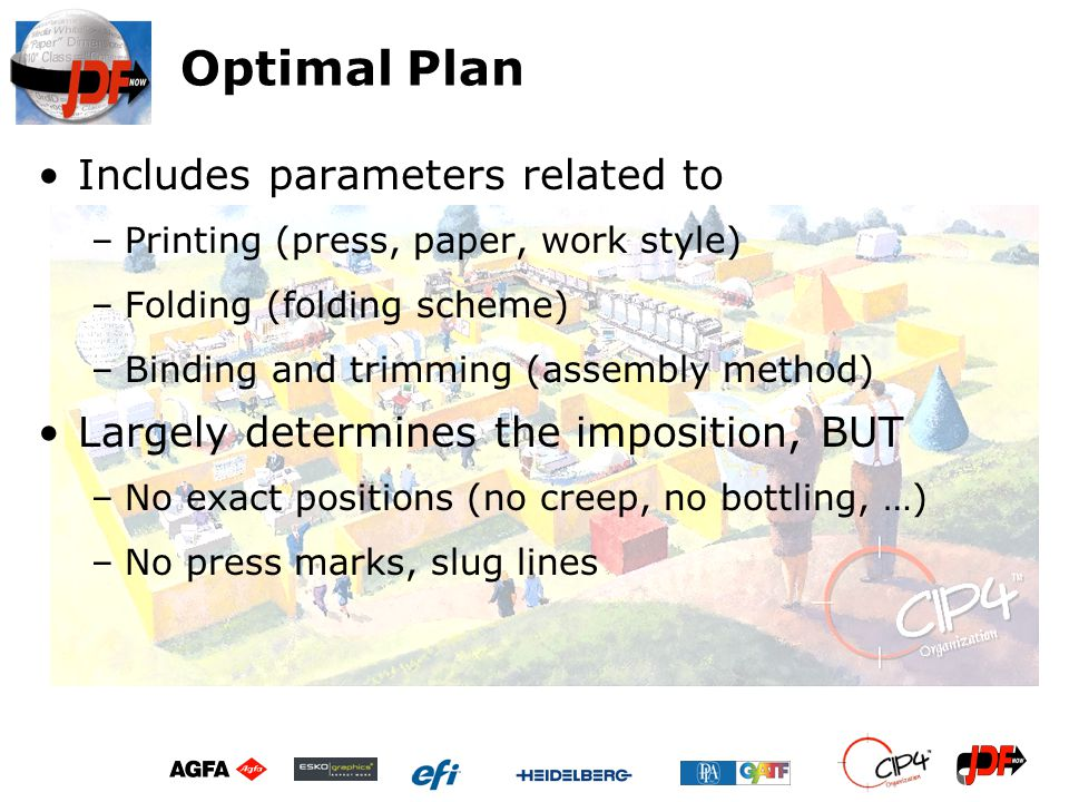 Optimal Plan Includes parameters related to