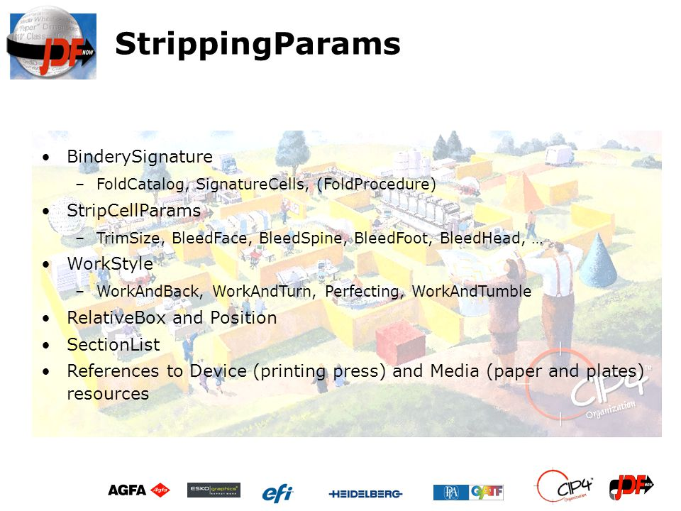StrippingParams BinderySignature StripCellParams WorkStyle