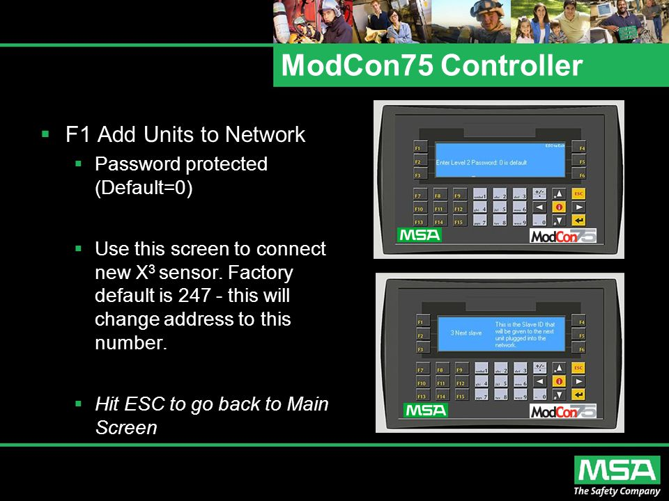 ModCon75 Controller F1 Add Units to Network
