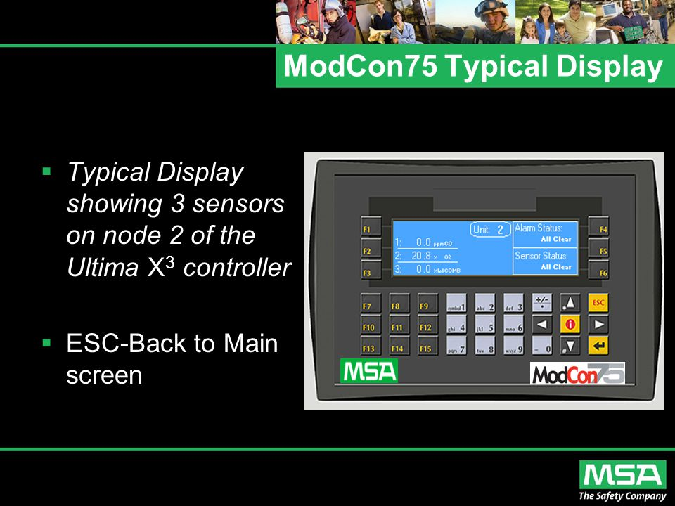 ModCon75 Typical Display