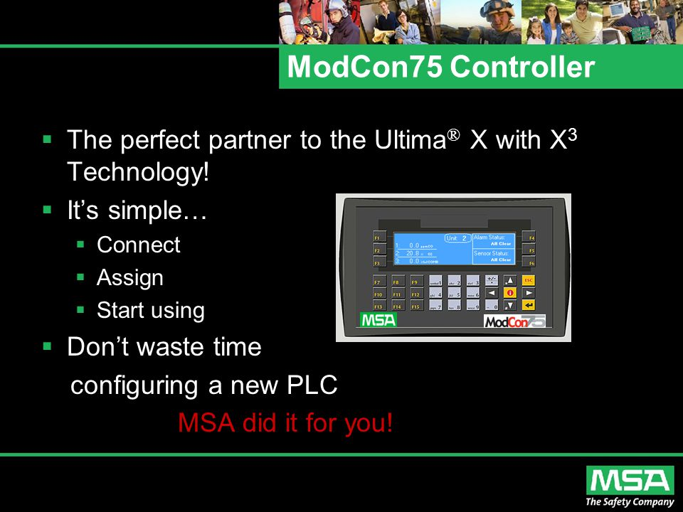 ModCon75 Controller The perfect partner to the Ultima® X with X3 Technology! It's simple… Connect.