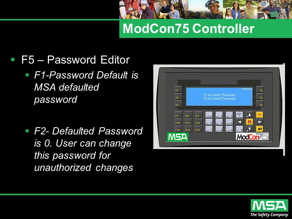 ModCon75 Controller F5 – Password Editor