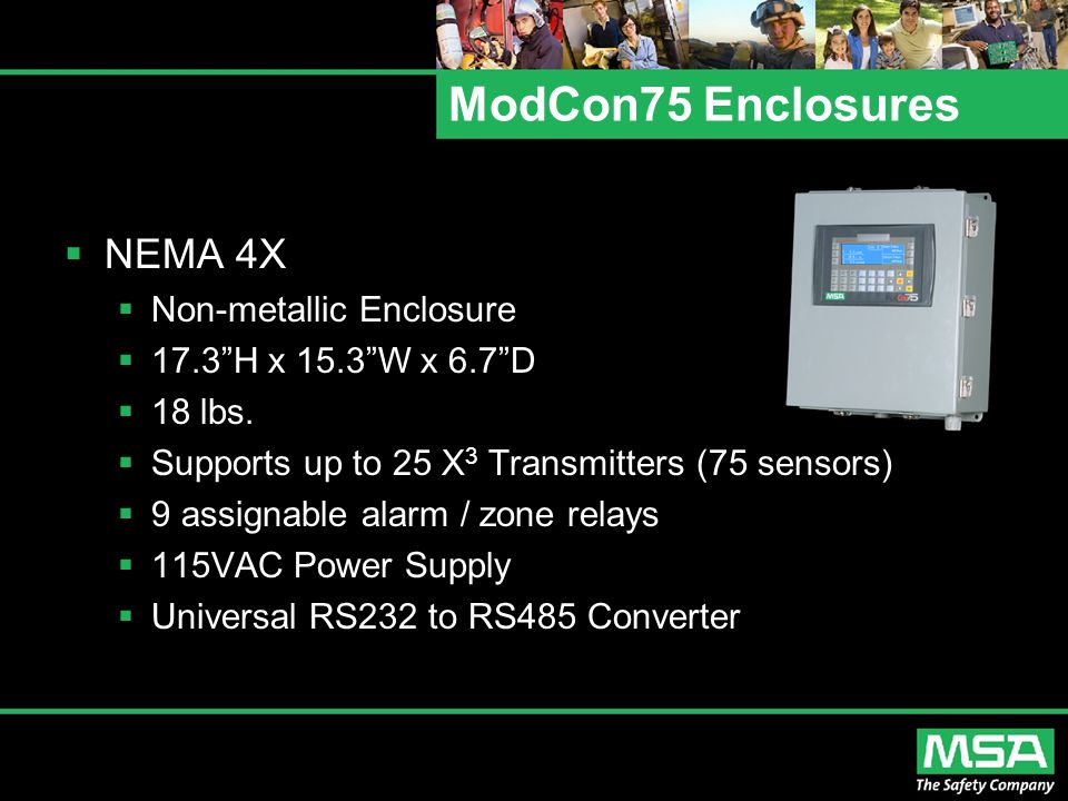 ModCon75 Enclosures NEMA 4X Non-metallic Enclosure