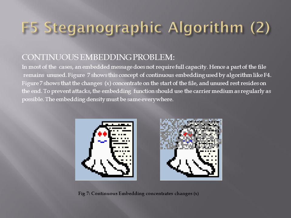 F5 Steganographic Algorithm (2)