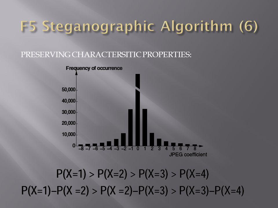 F5 Steganographic Algorithm (6)