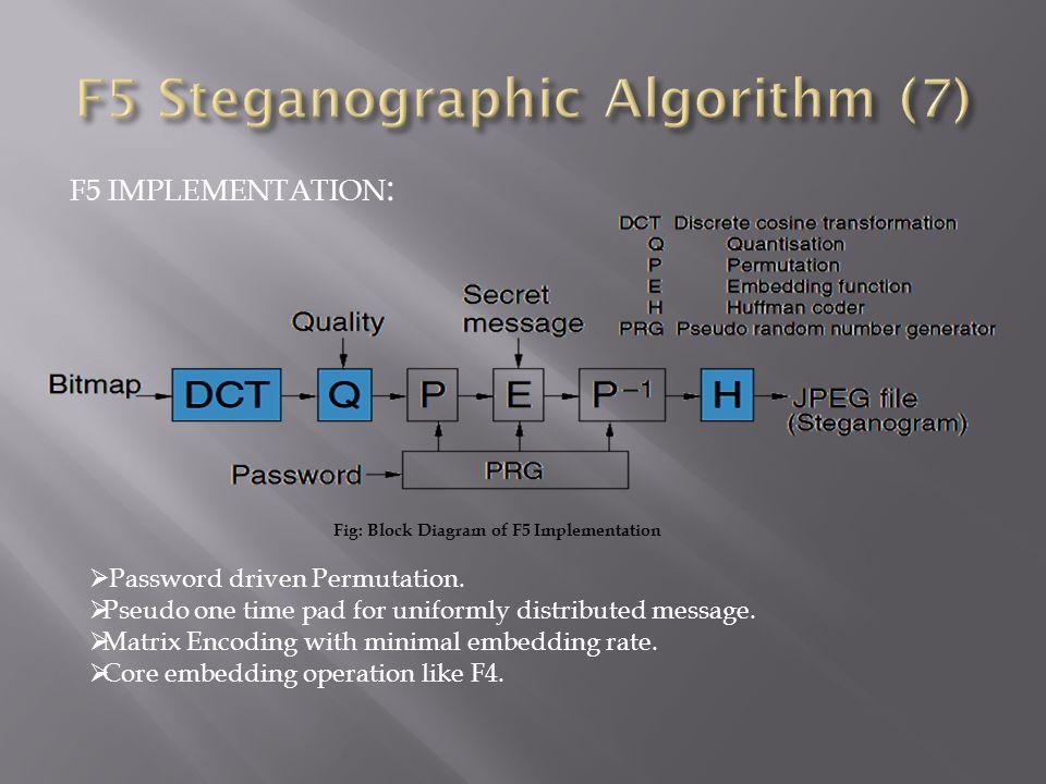 F5 Steganographic Algorithm (7)