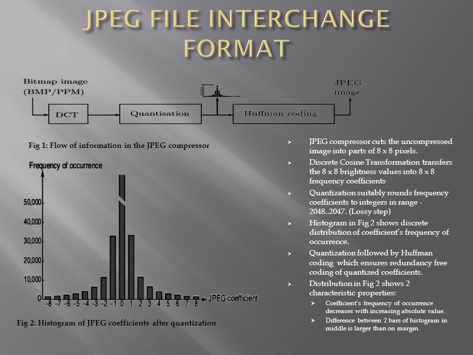 JPEG FILE INTERCHANGE FORMAT