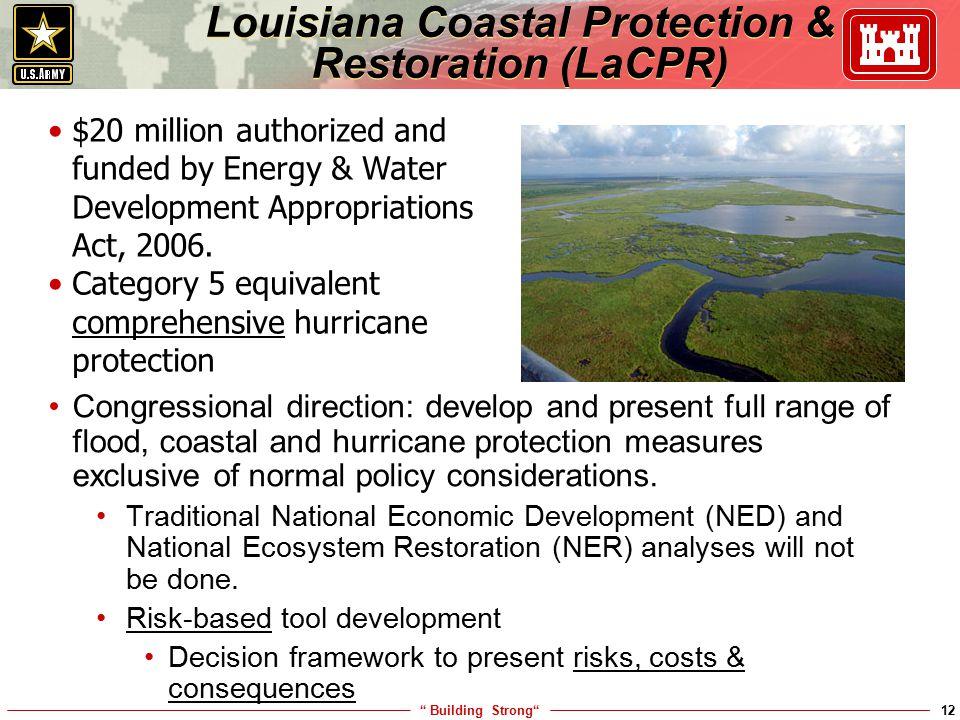 Louisiana Coastal Protection & Restoration (LaCPR)
