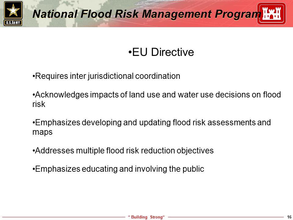 National Flood Risk Management Program