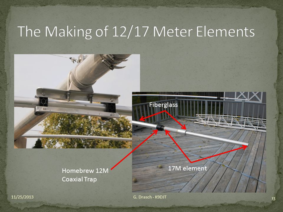 The Making of 12/17 Meter Elements