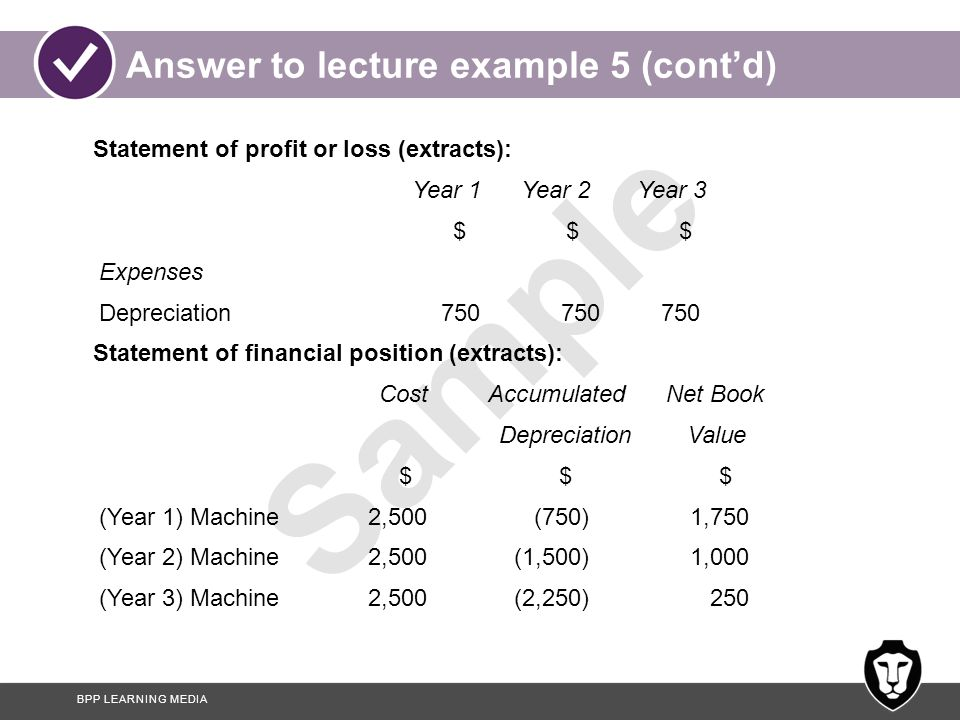 Answer to lecture example 5 (cont'd)