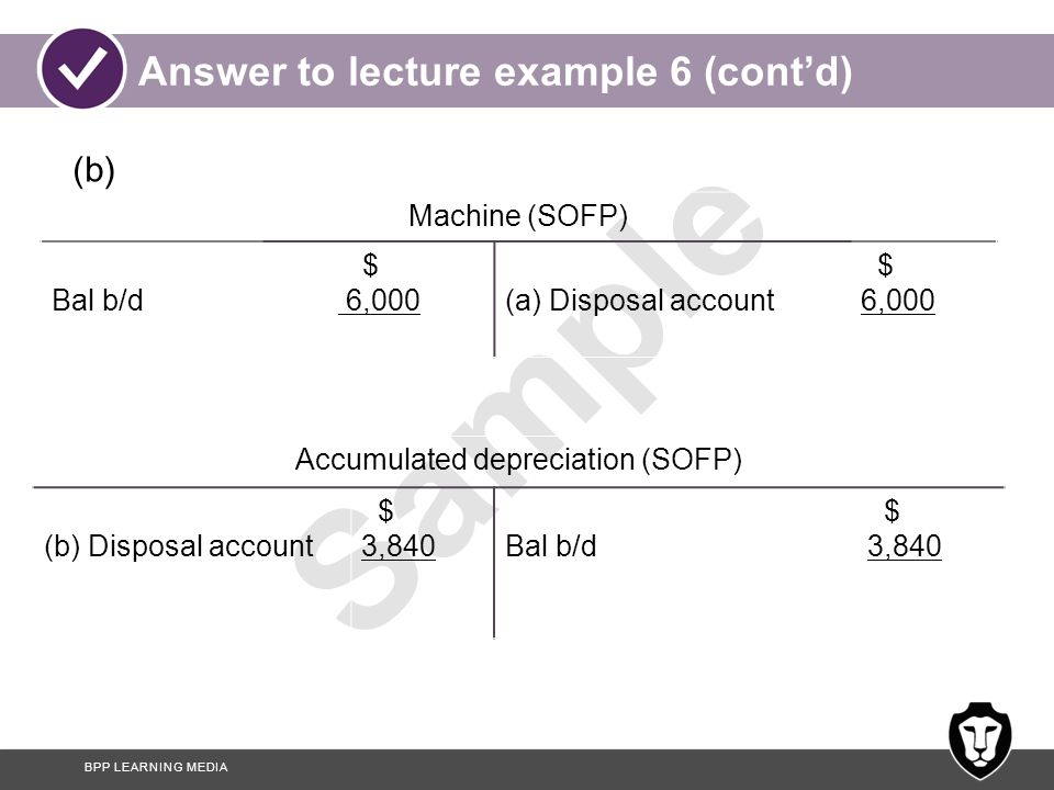Answer to lecture example 6 (cont'd)