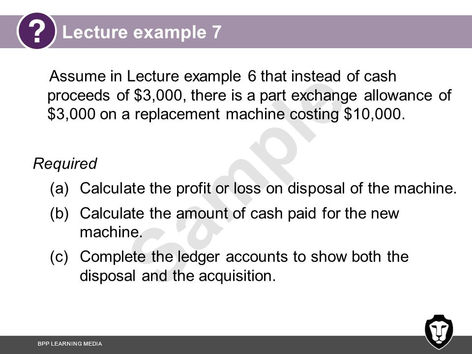 Lecture example 7