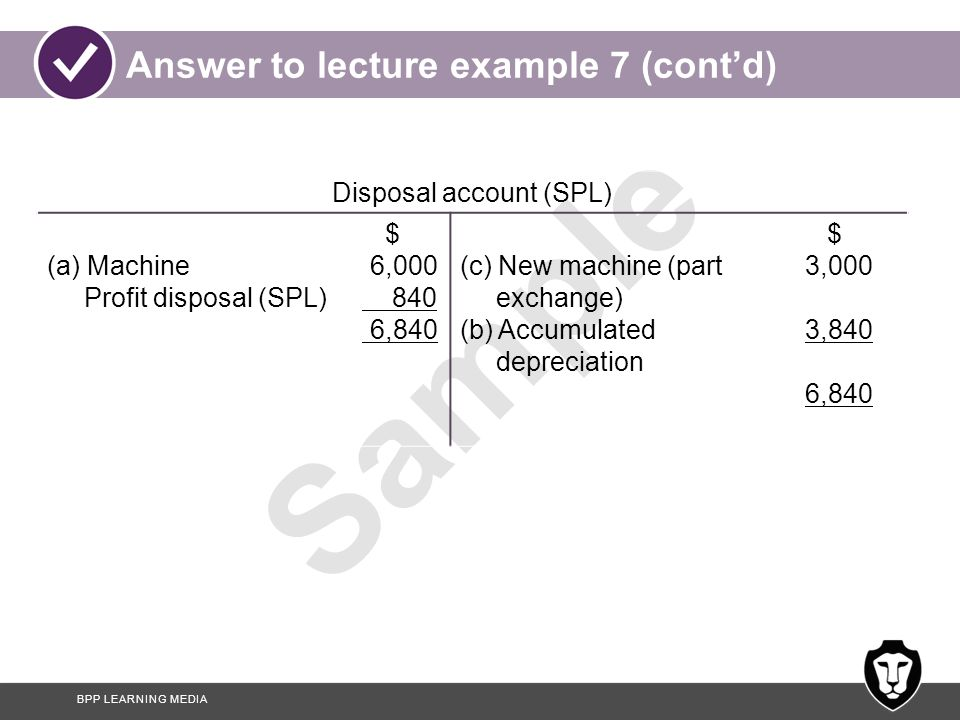 Answer to lecture example 7 (cont'd)