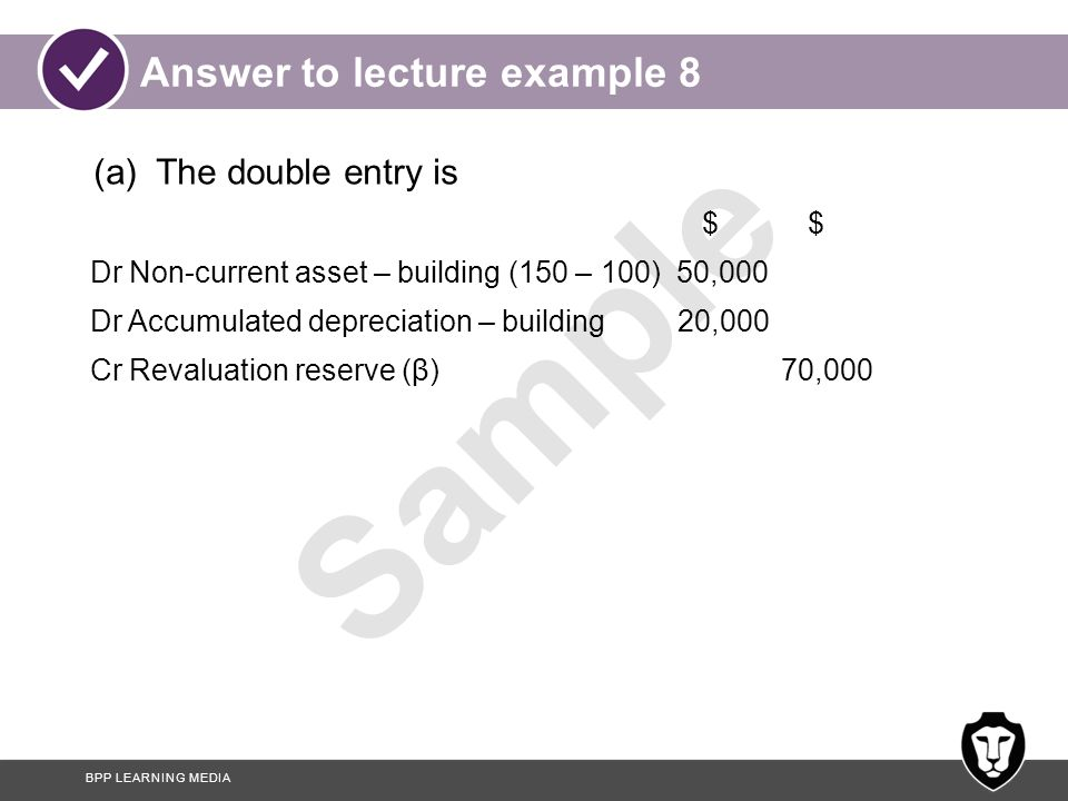 Answer to lecture example 8