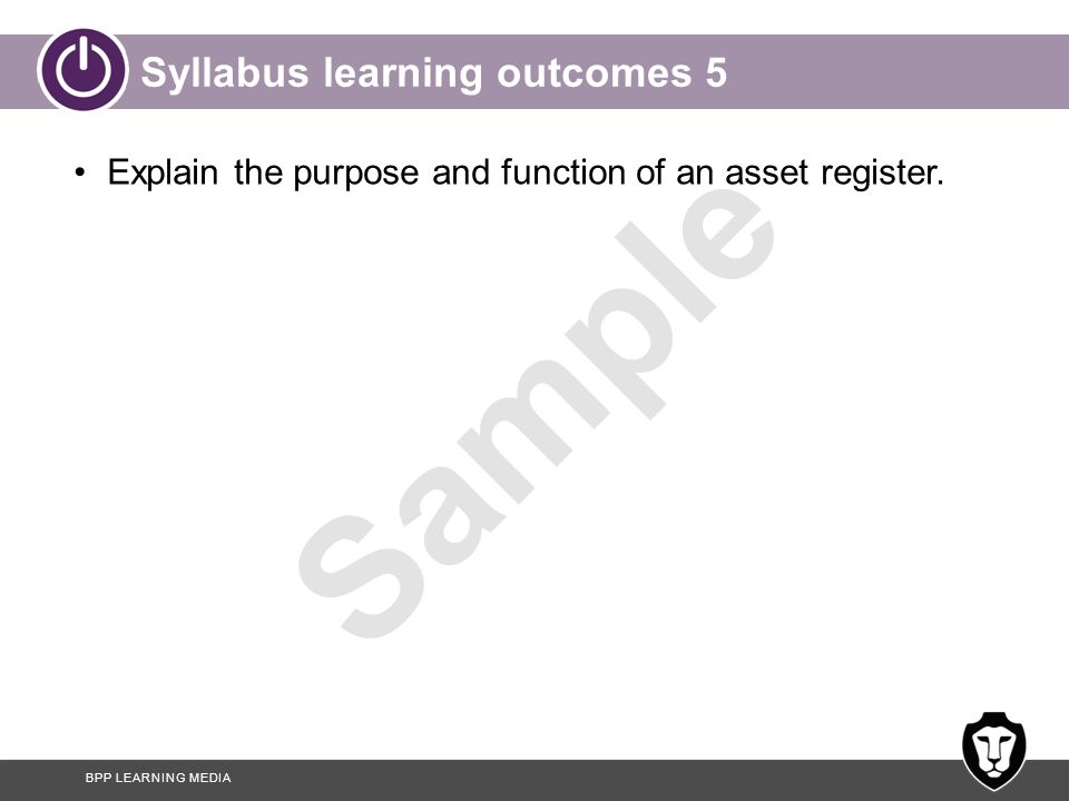 Syllabus learning outcomes 5