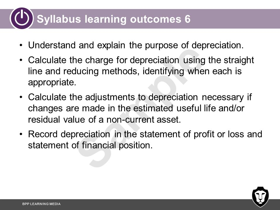 Syllabus learning outcomes 6