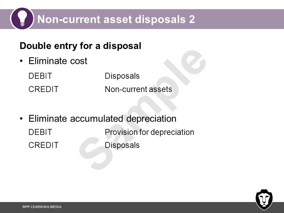 Non-current asset disposals 2