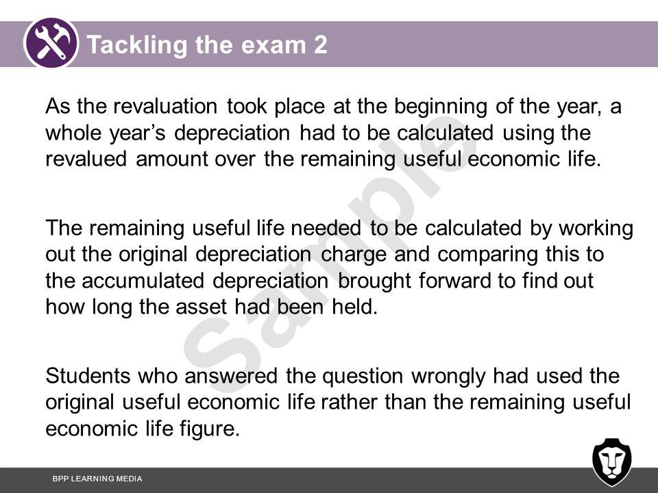 Tackling the exam 2