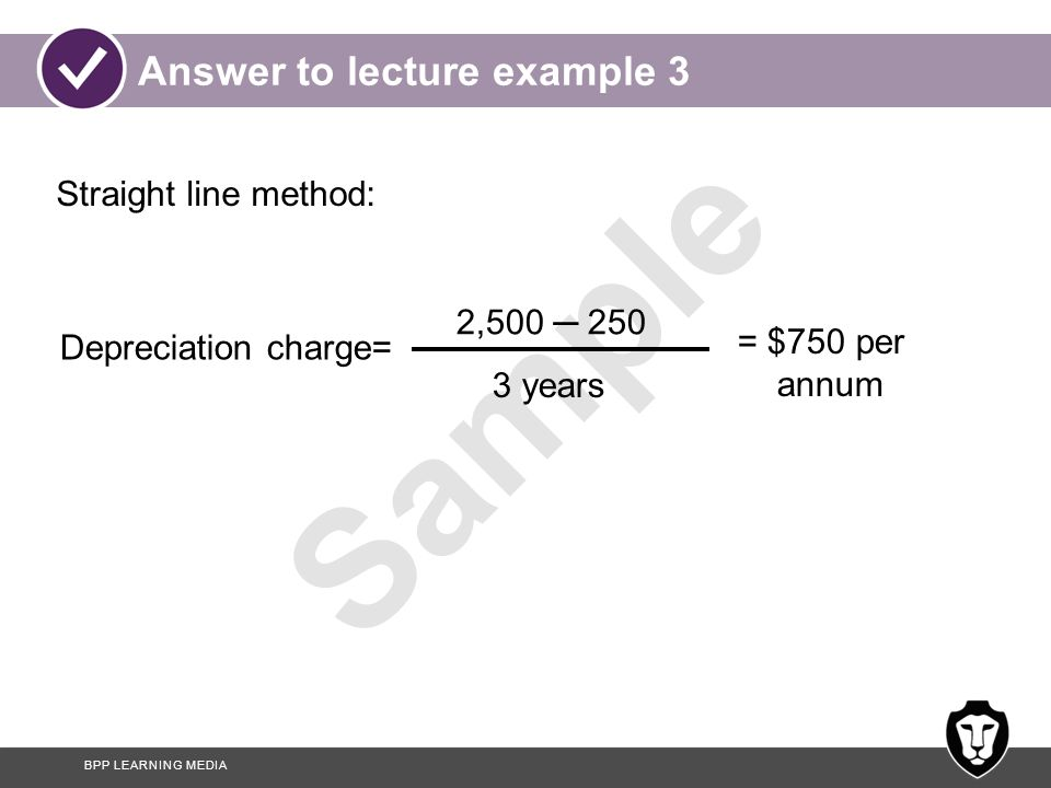Answer to lecture example 3