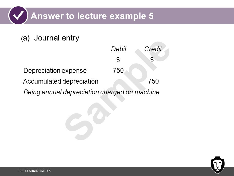 Answer to lecture example 5