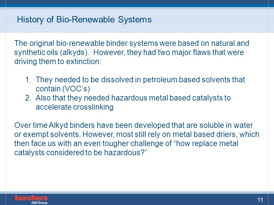 History of Bio-Renewable Systems