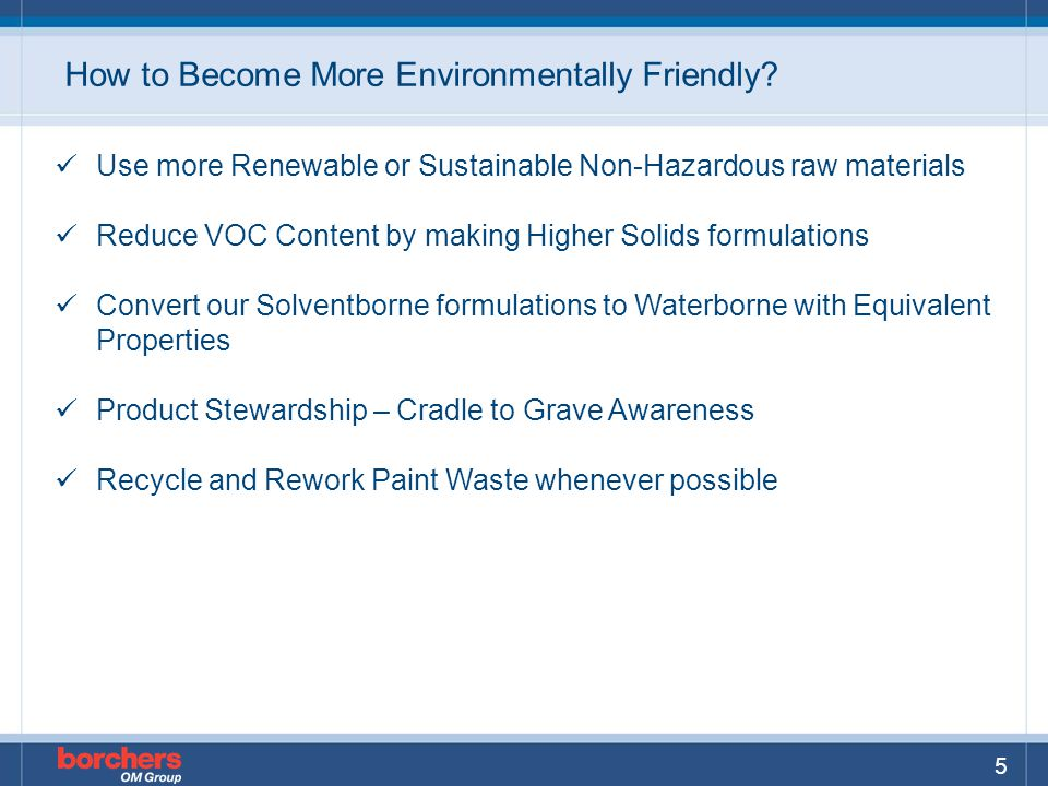How to Become More Environmentally Friendly