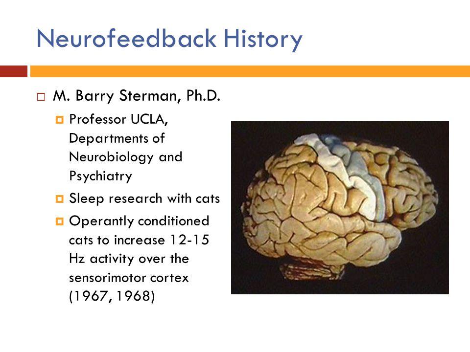 Neurofeedback History