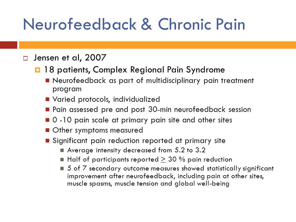 Neurofeedback & Chronic Pain