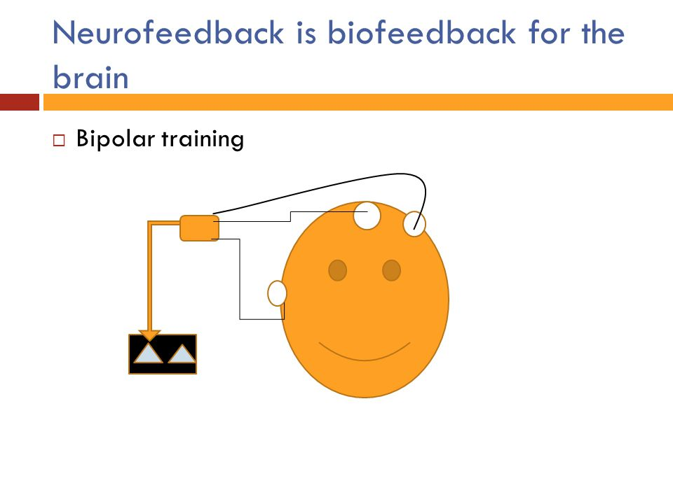 Neurofeedback is biofeedback for the brain