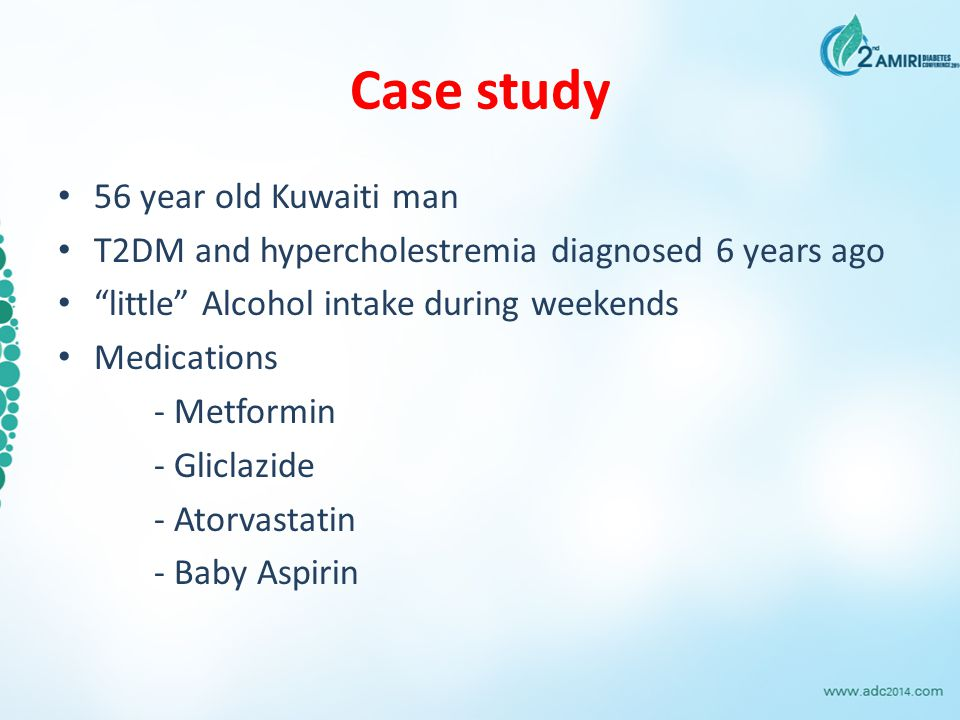 Case study 56 year old Kuwaiti man