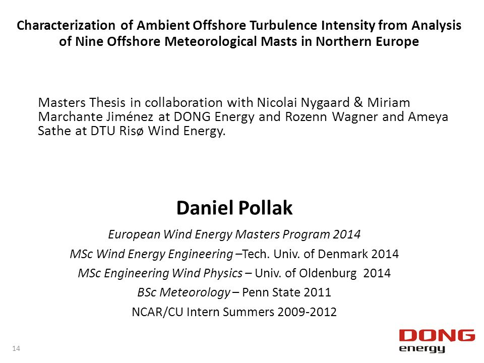 Characterization of Ambient Offshore Turbulence Intensity from Analysis of Nine Offshore Meteorological Masts in Northern Europe