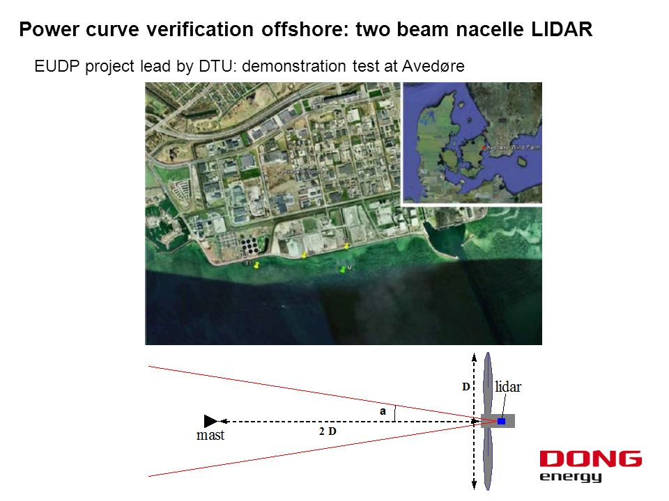 Power curve verification offshore: two beam nacelle LIDAR